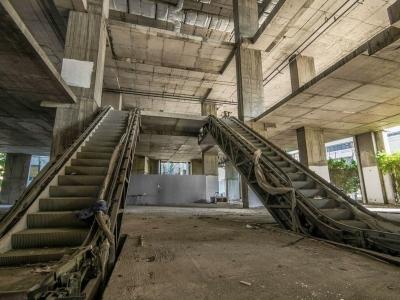 Заброшенная высотка в 49 этажей