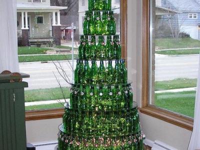 Новогодние елки , свежие идеи декора на Новый Год.