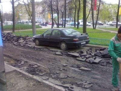 Как не надо ремонтировать дороги