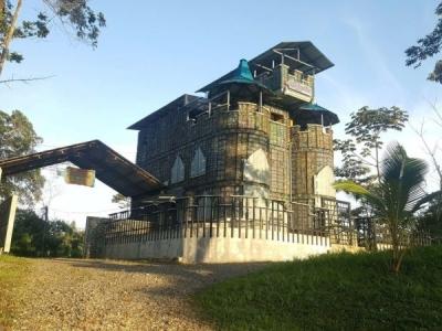 Угадайте из чего построен этот дом?