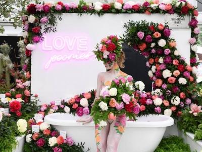 Фестиваль цветов в Лондоне