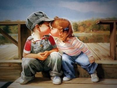 Чем так полезны поцелуи
